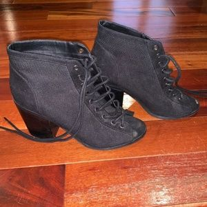 Urban Outfitters Laced Up Block Heel